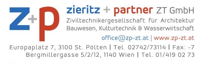 Firmenlogo Zieritz+Partner ZT GmbH