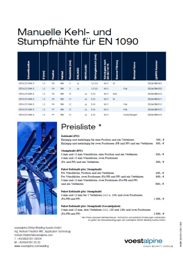 voestalpine Böhler Welding Austria GmbH  Galerie Bild 4