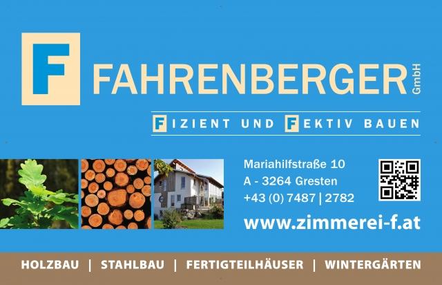Firmenlogo Zimmerei Fahrenberger GmbH