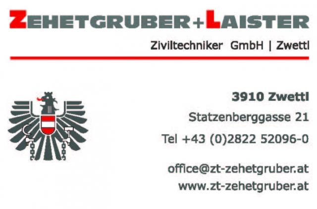 Firmenlogo Zehetgruber + Laister ZT GmbH